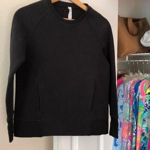 Lululemon Athletica Navy Sweatshirt